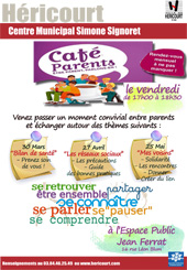 Café parents - Mars, Avril, Mai 2018